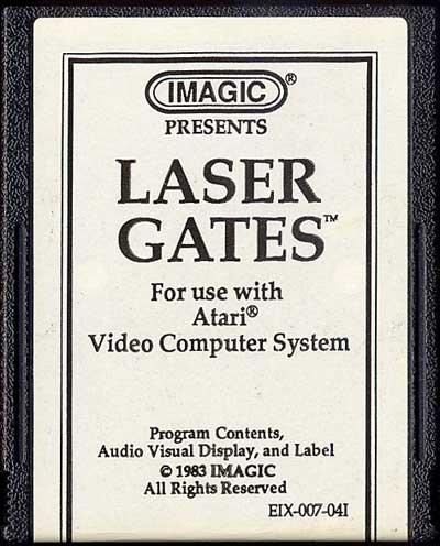 Laser Gates - Cartridge Scan