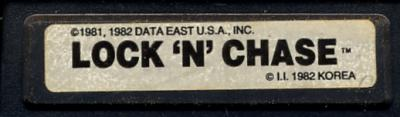 Lock 'N' Chase - Cartridge Scan