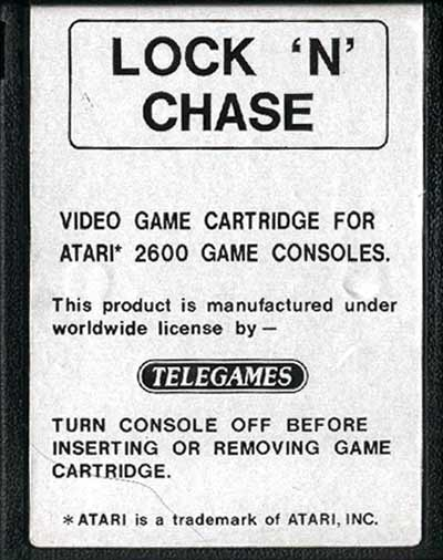 Lock 'N' Chase - Cartridge Scan