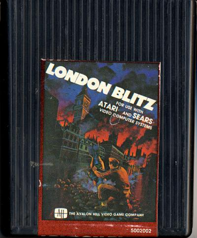 London Blitz - Cartridge Scan