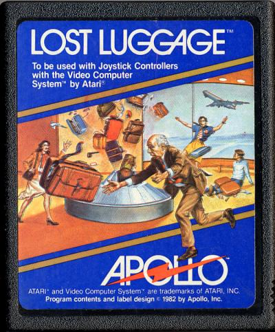 Lost Luggage - Cartridge Scan