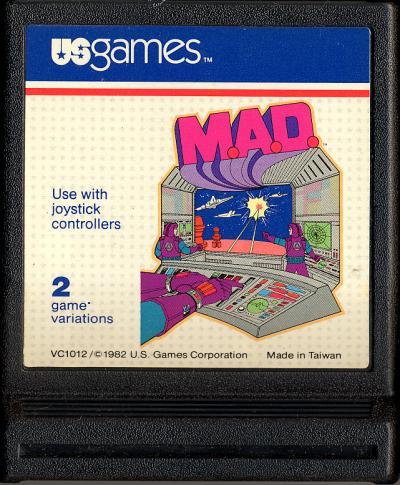 M.A.D. - Cartridge Scan