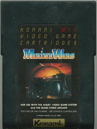 Marine Wars - Cartridge Scan