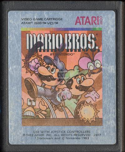 Mario Bros. - Cartridge Scan
