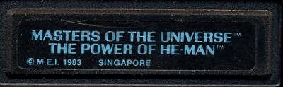 Masters of the Universe - He Man - Cartridge Scan