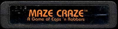 Maze Craze - Cartridge Scan