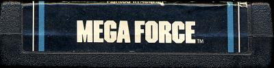 Mega Force - Cartridge Scan