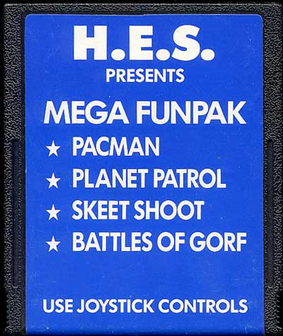 Mega Fun Pak - Cartridge Scan
