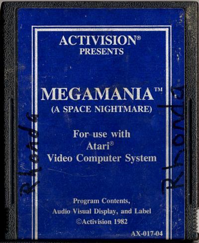 Megamania - Cartridge Scan