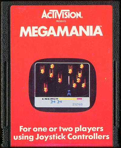 Megamania - Cartridge Scan