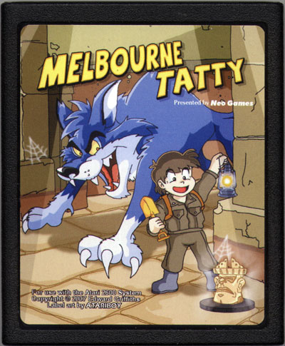 Melbourne Tatty - Cartridge Scan