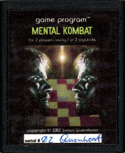 Mental Kombat - Cartridge Scan