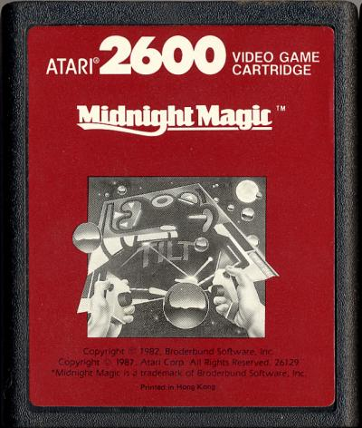 Midnight Magic - Cartridge Scan