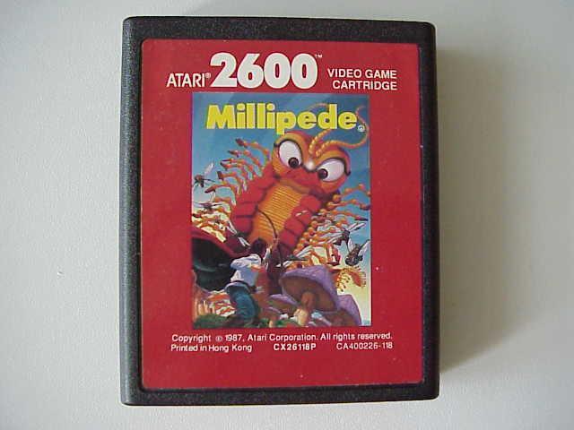 Millipede Atari 2600 Online AtariAge - Atari 2600 ...