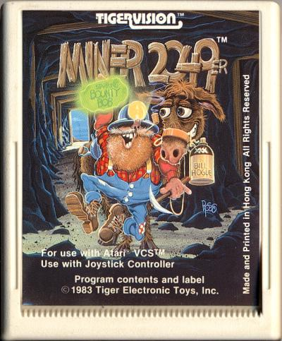 Miner 2049er - Cartridge Scan