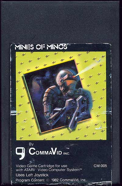 Mines of Minos - Cartridge Scan
