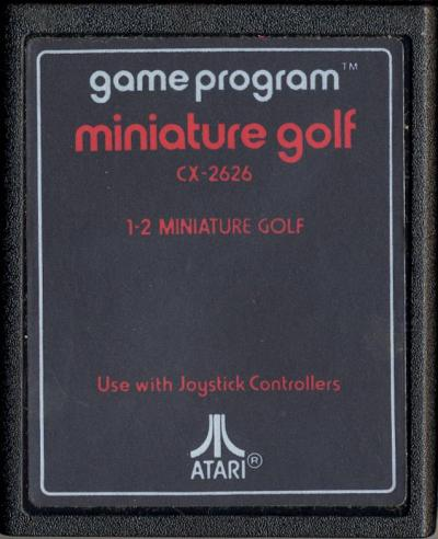 Miniature Golf - Cartridge Scan