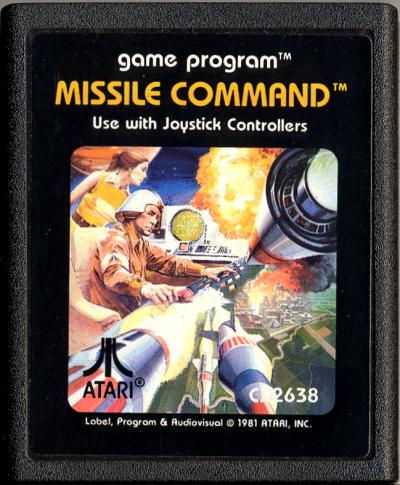 Missile Command - Cartridge Scan