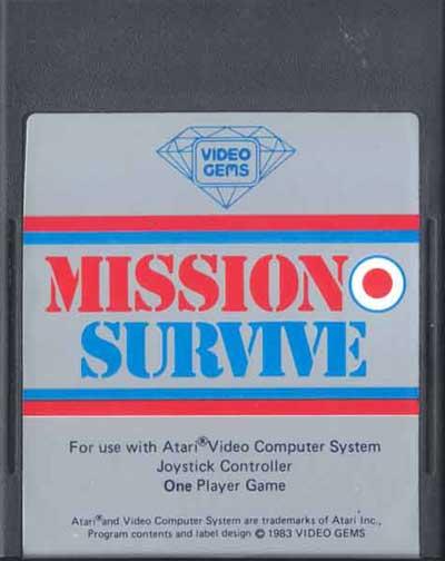 Mission Survive - Cartridge Scan