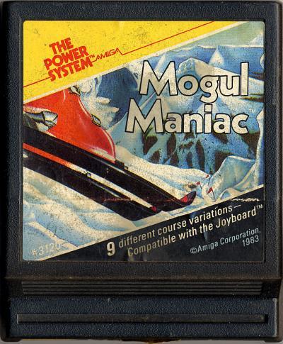 Mogul Maniac - Cartridge Scan