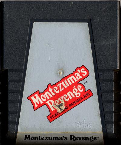 Montezuma's Revenge - Cartridge Scan
