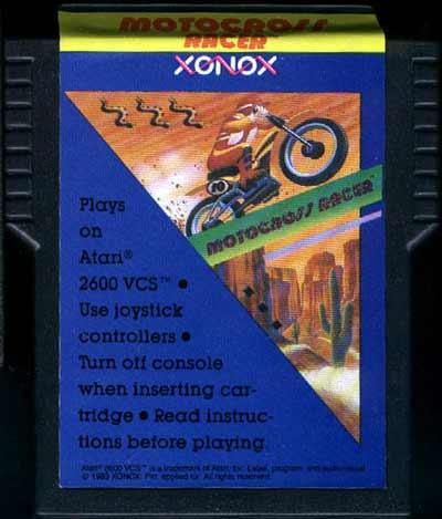 Motocross Racer - Cartridge Scan