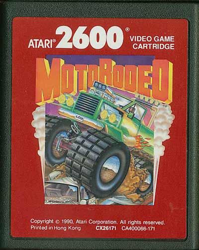 MotoRodeo - Cartridge Scan