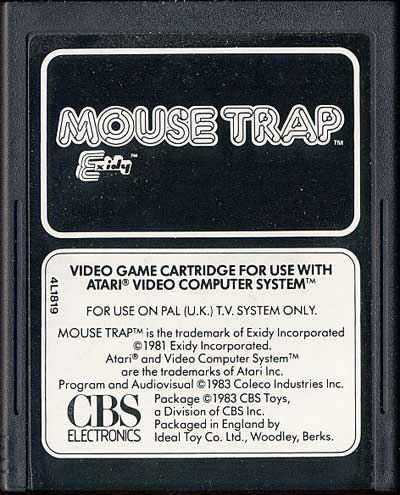Mouse Trap - Cartridge Scan