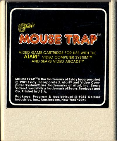 Mouse Trap - Cartridge Scan