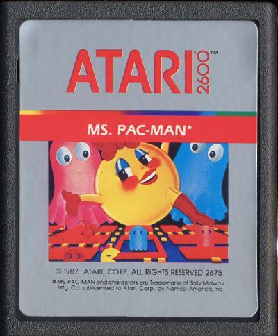 Ms. Pac-Man - Cartridge Scan