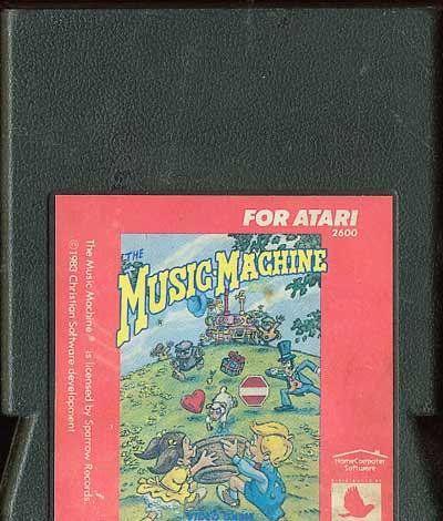 The Music Machine - Cartridge Scan