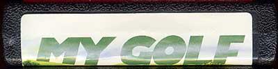 My Golf - Cartridge Scan