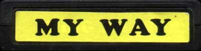 My Way - Cartridge Scan