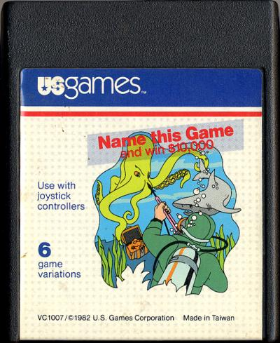 Name This Game - Cartridge Scan
