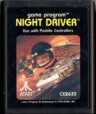 Night Driver - Cartridge Scan