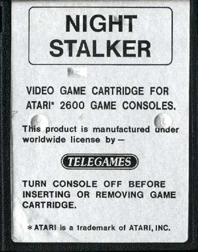 Night Stalker - Cartridge Scan