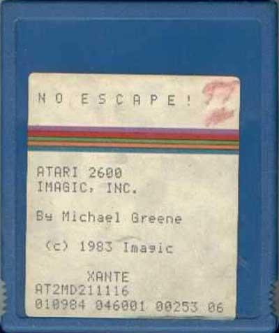 No Escape! - Cartridge Scan