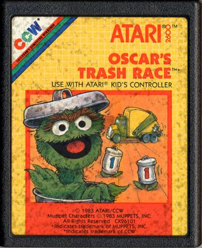 Oscar's Trash Race - Cartridge Scan