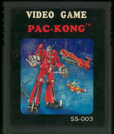 Pac-Kong - Cartridge Scan