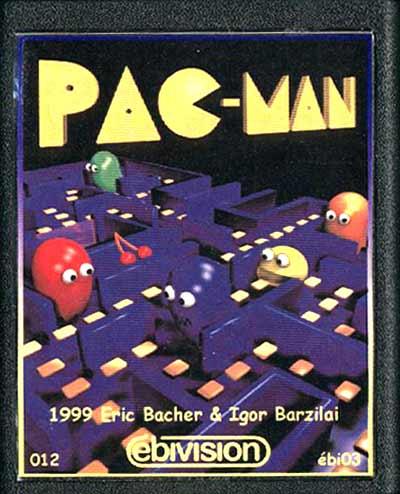 Pac-Man - Cartridge Scan