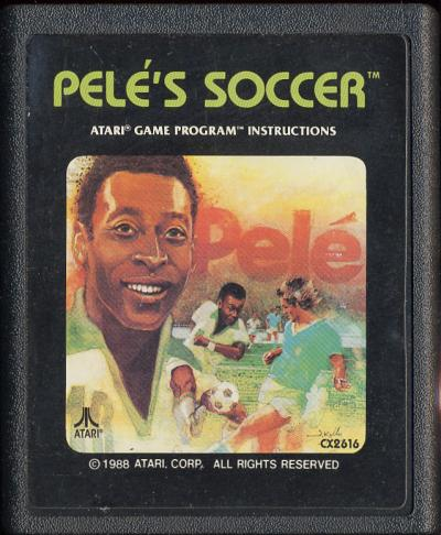 Pele's Soccer - Cartridge Scan