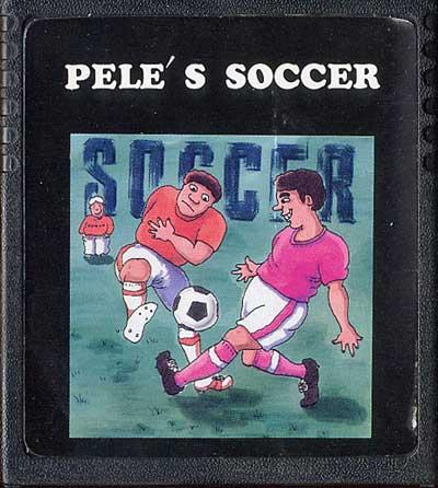Pele's Soccer - Cartridge Scan