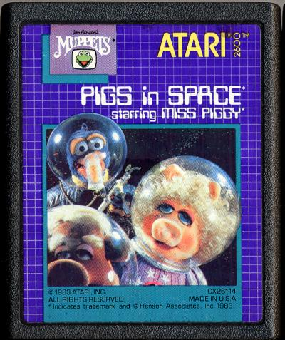 Pigs in Space - Cartridge Scan