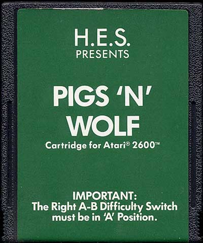 Pigs 'N' Wolf - Cartridge Scan