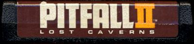 Pitfall II: Lost Caverns - Cartridge Scan