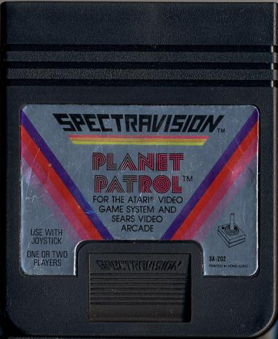 Planet Patrol - Cartridge Scan