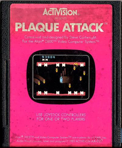 Plaque Attack - Cartridge Scan