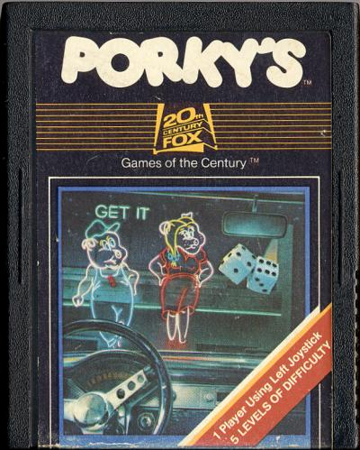Porky's - Cartridge Scan