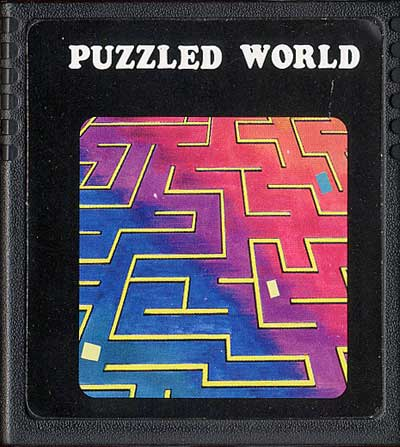 Puzzled World - Cartridge Scan