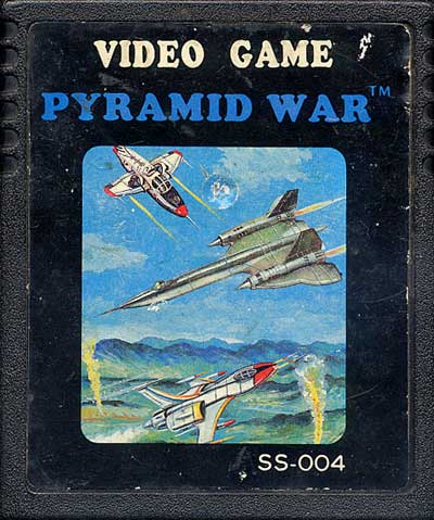 Pyramid War - Cartridge Scan